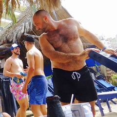 IMG_0857 (danimaniacs) Tags: shirtless man sexy guy beard mexico muscle muscular hunk puertovallarta stud scruff bodyhair
