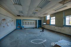 Classroom 1 (AP Imagery) Tags: school abandoned chair classroom decay kentucky ky forgotten elementary urbanexploring philpot urbex daviessco