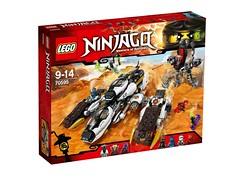 LEGO Ninjago 70595 - Ultra Stealth Raider (THE BRICK TIME Team) Tags: summer brick lego ninja sommer 2016 ninjago