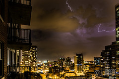 Thunder-5 (L-Imaging) Tags: sunset sky chicago weather buildings cloudy niko lightening thunder sinset weath chicagocity ligthining limaging