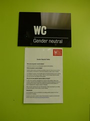 Gender neutral WC (moley75) Tags: london strand university wc toilets kingscollegelondon genderneutral