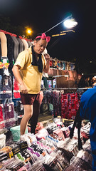 Boy you been a naughty girl, you let your knickers down (GG_Abitbol) Tags: street light night photography one stand funny market low hsinchu taiwan dxo vendor