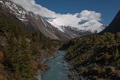 Marsyangdi River (Tommy0111) Tags: nepal snow mountains ice asien berge himalaya landschaft