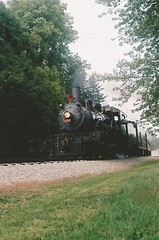SOU 2-8-0 Consolidation #401 (trainphotoz) Tags: steam monticello sou 280 southernrailway steamlocomotive monticelloillinois monticelloil 280consolidation