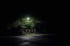 Hard Right (Dan Parratt) Tags: nightphotography england urban night streetlight nightscape nocturnal darkness streetlamp empty streetphotography hampshire nightphoto nightfoto