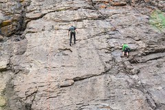 Cajn del Maipo - Valles las Arenas (67) (lxrdrg) Tags: climbing montaa escalada cajondelmaipo escaladadeportiva vallelasarenas pareddejabba pareddejabbah
