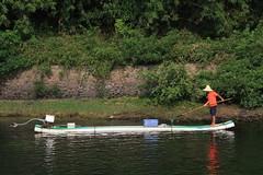 China (Egg2704) Tags: china rio barca barco pescador pescadores yangtsé egg2704 rioyangtsé gargantasdelyangtsé