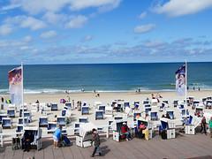 Sylt - Westerland (gernotp) Tags: strand deutschland meer urlaub sylt nordsee strandkorb schleswigholstein ort schleswigholsteinurlaub grv4al grl5al
