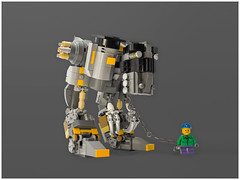 Little Billy Swanson & The Collector of Corroded Souls (donteatmemountainlion) Tags: robot lego walker claws mecha moc boc