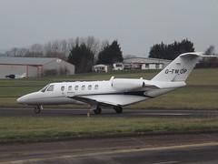 G-TWOP Cessna Citation CJ2 Centreline Air Charter Ltd (Aircaft @ Gloucestershire Airport By James) Tags: james air gloucestershire ltd cessna lloyds charter citation cj2 bizjet airprot centreline egbj gtwop