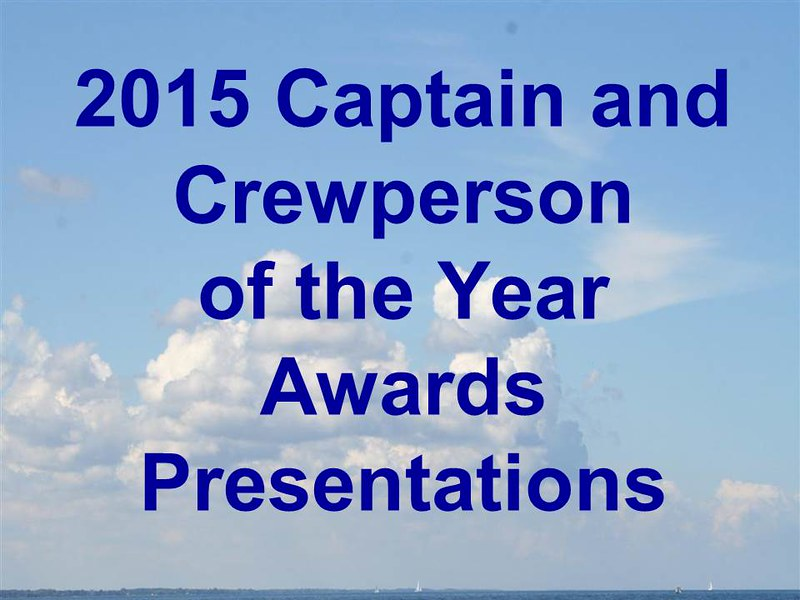 2015 Captain and Crewman of the Year