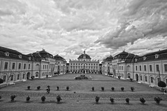Ludwigsburg Palace (lukedrich_photography) Tags: city building clouds canon germany deutschland europa europe european royal kingdom courtyard palace tourist historical baroque schloss baden hdr ludwigsburg westerneurope  badenwurttemberg bundesrepublikdeutschland badenwrttemberg   federalrepublicofgermany   wurttemberg dukedom bundesrepublikdeutschlandfederalrepublicofgermany t1i canont1i