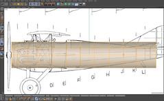 SPADXIII-WIP 2 (StratoArt) Tags: history 3d aircraft aviation military wwi cinema4d warbird biplane warplane spad xiii