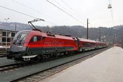 BB 1116 237-9 Railjet, Kufstein (michaelgoll777) Tags: rj bb 1116 railjet