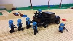 The MOC (jakewells91) Tags: truck war gun lego m16 firearms moc brickarms gibrick