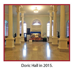 Doric Hall, 2015 (State Library of Massachusetts) Tags: capitol bostonmassachusetts massachusettsstatehouse massachusettslegislature dorichall