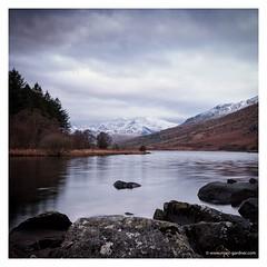 Llyn Mymbyr, Snowdonia (MDG534621) Tags: uk winter lake snow mountains wales snowdonia