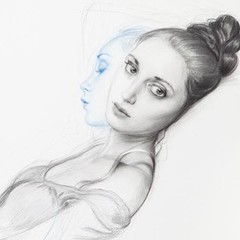 Photo (Dorian Vallejo) Tags: art painting mixed media drawing fine drawings figure oil vallejo dorian