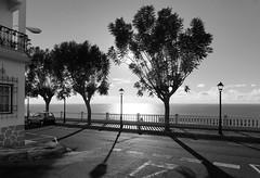 La Palma Tazacorte (eatmymoto) Tags: street shadow sun holiday sunshine backlight contraluz island coast spain europa europe balcony urlaub insel lapalma canaries schatten canaryislands vacaciones mauer balustrade espagna kste gegenlicht vulkan ballustrade kanarischeinseln strase
