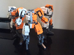 WIP 3 - upper bodies (chbenito) Tags: lego wip mecha reframe