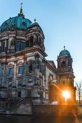Berliner Dom - Sonnenuntergang (maikepiel) Tags: travel sunset sky sun berlin germany deutschland evening abend sonnenuntergang dom himmel dome sonne sights