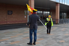DSC_2547A (jane.hards) Tags: street people yellow demo protest streetphotography lancashire banners anti blackpool causes nanas placards appeal fracking frackfreefylde