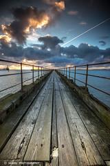 IMG_8828 (timothytripod) Tags: uk sea beach water sunrise reflections pier explore northumberland blyth whitleybay 1635 calorgas skyporn