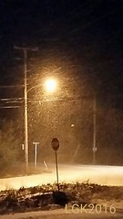 BRRRRRRRR!!!!!! (Peachhead (4,000,000 views!)) Tags: road street winter snow cold weather streetlamp pennsylvania hiver snowstorm pa stopsign intersection invierno neige blizzard inverno lehighvalley nepa northamptoncounty slatebelt blizzard2016