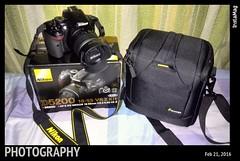 My new baby  #ilovephotography #nikonD5200 #DSLR (tshirt.prints) Tags: dslr ilovephotography nikond5200