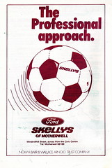 Motherwell vs Airdrieonians - 1979 - Page 6 (The Sky Strikers) Tags: park football scottish first lucky fir guide division league motherwell programme airdrie airdrieonians