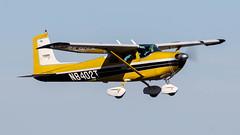 Cessna 182B N8402T (ChrisK48) Tags: airplane aircraft 1959 dvt 182 phoenixaz kdvt cessna182b phoenixdeervalleyairport n8402t