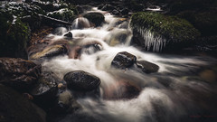 Frozen Flow (Augmented Reality Images (Getty Contributor)) Tags: longexposure winter ice water forest canon river landscape frozen rocks perthshire lee filters icicles