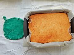 mannik-s-prihvatkoi (Horosho.Gromko.) Tags: orange cooking cake baking   ibake   semolinacake