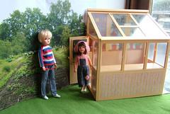 DianaSindyPatchGreenhouse (mikki_ireland) Tags: doll greenhouse patch sindy