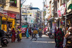 Udaipur Market Street, India (hugemittons) Tags: street india colorful colours market busy udaipur bustling