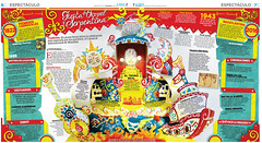 Fiesta de Oropel y Serpentina (lolo_aburto) Tags: carnival mexico carnaval diorama papercraft maqueta mazatln editorialdesign manualidad