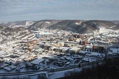 Johnstown, PA (joseph a) Tags: cityscape pennsylvania snowstorm blizzard johnstown johnstowninclinedplane