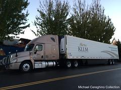 KLLM Freightliner Cascadia, Truck# 31897 (Michael Cereghino (Avsfan118)) Tags: truck transport semi service trailer services trucking reefer sleeper cascadia freightliner kllm
