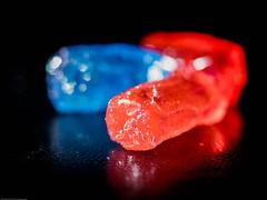 Subtle tastes (P'sych) Tags: colour candy hard sweets orangeblue jollyrancher 27ccfbt