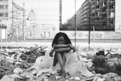 (alba.rochina) Tags: street blackandwhite nude