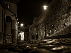 Nightwalk in Kalmar Old Town I (A.Husvaer) Tags: city nightshot arcitecture kalmar xt1 xf23f14