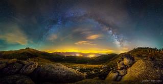Vía Láctea sobre las Cinco Villas v2[Explore]