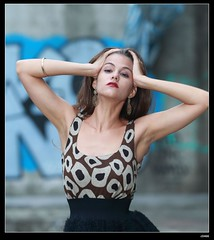 nEO_IMG_DP1U6657 (c0466art) Tags: africa portrait black west portugal girl beautiful canon pose island blood model action gorgeous ruin style skirt professional short marta charming elegant sao  tome 1dx c0466art
