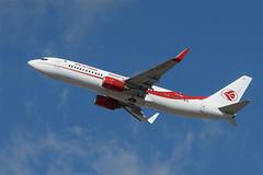 Air Algerie Boeing 737-800 7T-VKO (j.borras) Tags: barcelona airplane algeria being air bcn ah takeoff 800 runway spotting 737 departing lebl