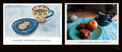 11 Cake & Coffee (Room With A View) Tags: birthday art pairs dyptich carolineme