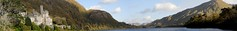 Kylemore Abbey (Ben Dillon) Tags: ireland panorama lake mountains galway abbey connemara kylemore