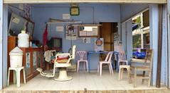 Tachileik Myanmar 25.2.2016 0278 (orangevolvobusdriver4u) Tags: shop burma hairdresser myanmar geschft hairdressers friseur 2016 hairdressersshop tachileik archiv2016