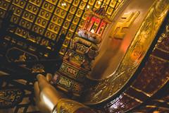 Inside the Temple (Linus Wrn) Tags: china temple hongkong golden asia lotus buddha buddhist swastika buddhism buddhisttemple shatin