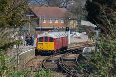 Islandline Train (sunnyisle) Tags: station rail railway isleofwight wight sandown londonundergroundstock