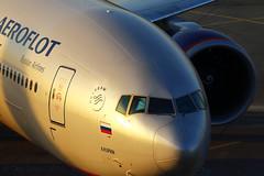 B777 (Oleg Botov) Tags: sky plane airport aircraft aviation boeing 777 spotting airliners avia aeroflot svo  planespotting boeing777  b777  sheremetyevo  avgeek  botov uuee kuprin  planeporn  crewlife slavniyoleg